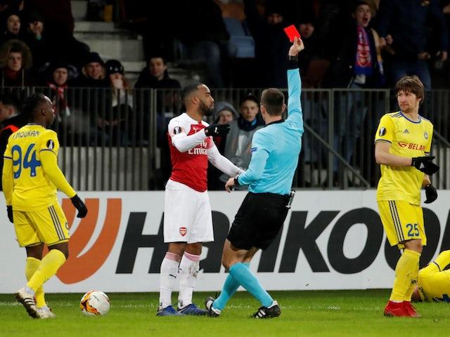 Lacazette suspension twist surprises Rennes boss Stephan
