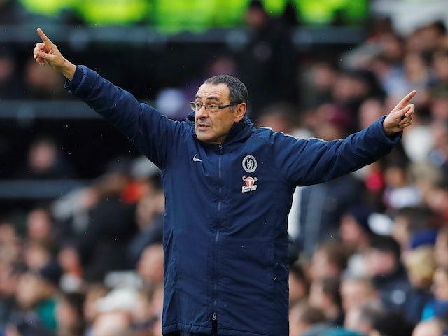 Maurizio Sarri hoping Chelsea avoid Napoli in Europa League quarter-finals