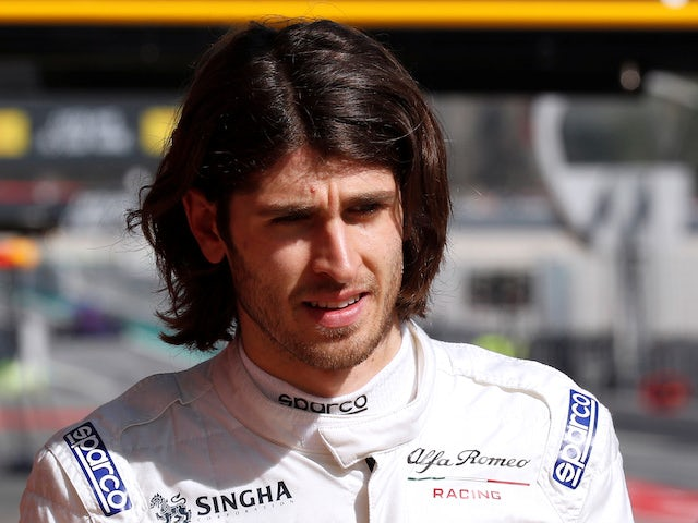 Giovinazzi should make cautious start - Fisichella
