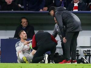 Liverpool injury, suspension list vs. Fulham