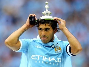 Man City reject Corinthians' Tevez bid