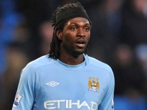 Spurs want Adebayor on loan