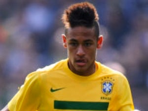 Neymar 'cries' after receiving red card