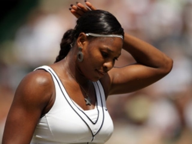 Result: Serena Williams defeats Lucie Hradecka in straight sets