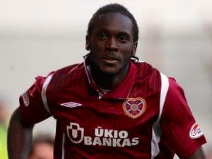 Hearts' Obua misses Hungary flight