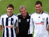 Zoltan Gera, Roy Hodgson and Ben Foster
