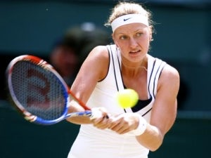 Result: Kvitova breezes into last eight