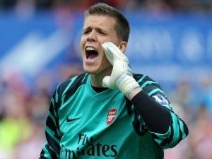 Wojciech Szczesny ruled out for Arsenal