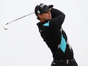 Scott maintains lead at Firestone