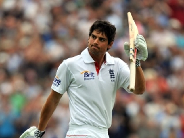 Cook hits century as England fight back