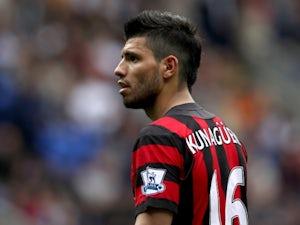 Team News: Aguero on the bench for Man City