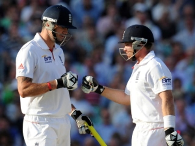 England dominate on day two