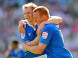 Adam Rooney, Chris Burke