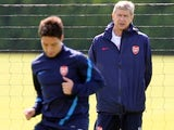 Samir Nasri and Arsene Wenger