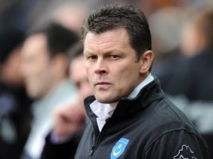 Cotterill cries as he leaves Portsmouth