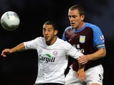 Stuart Fleetwood and Richard Dunne