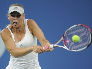 Result: Wozniacki crashes out in first round