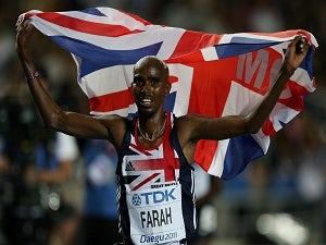 Farah issues Bolt charity challenge