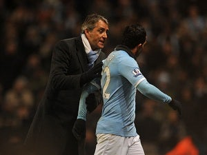 Mancini: 'It was easy to forgive Tevez'
