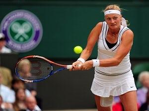 Result: Kvitova advances to round three