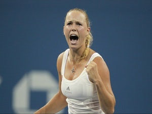 Result: Wozniacki advances in China