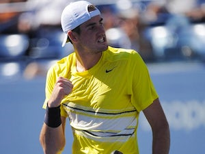 Isner admits to good fortune