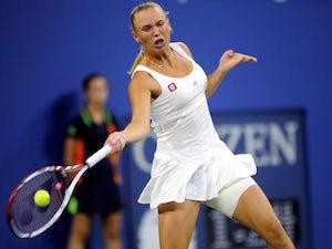 Result: Wozniacki safely through in Montreal