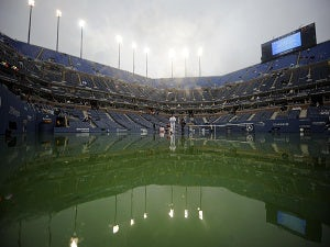 Rain delays start of US Open matches