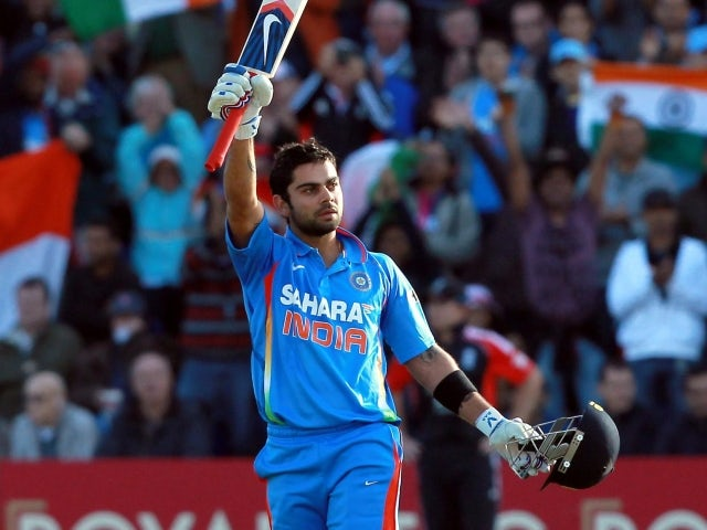 India set West Indies 312 to win
