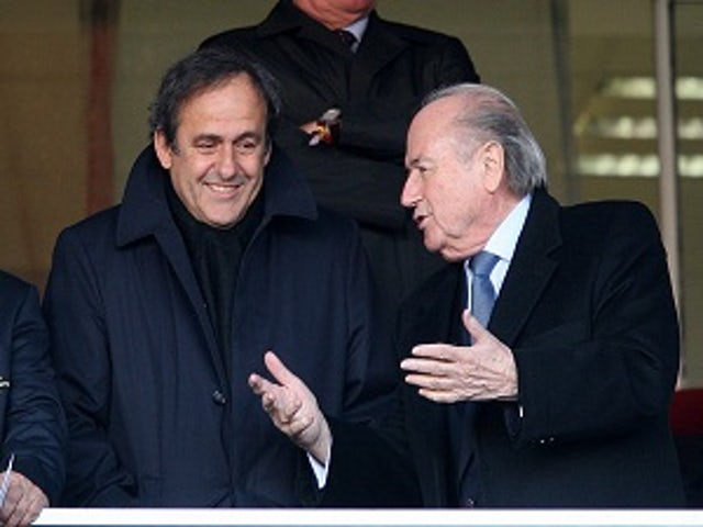 Blatter: 'Platini ready to replace me'