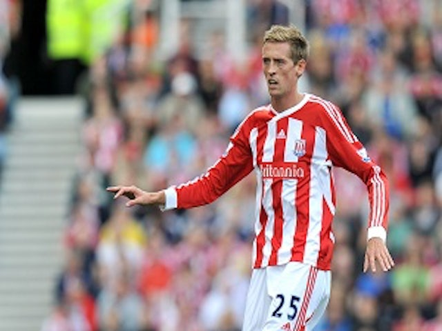 Team News: Crouch up front for Stoke