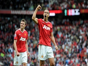 Ferdinand out, Vidic in for Utd in Romania