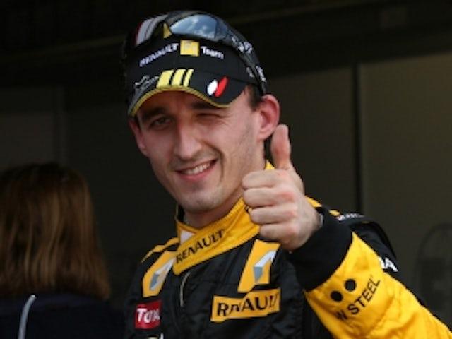 Kubica to miss start of 2012 season