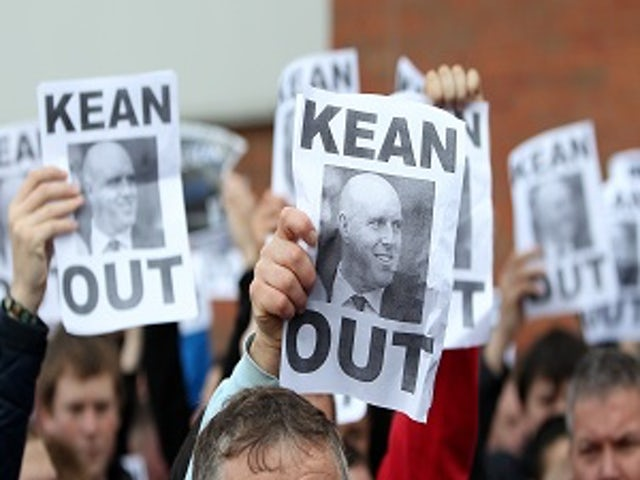 Fans 'disgusted' with Kean stay