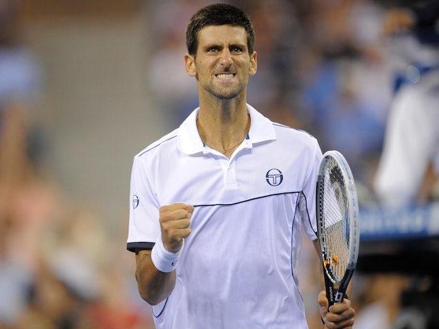 Result: Djokovic battles through to semi-finals