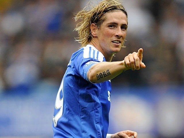 how many goals has torres scored for chelsea this season