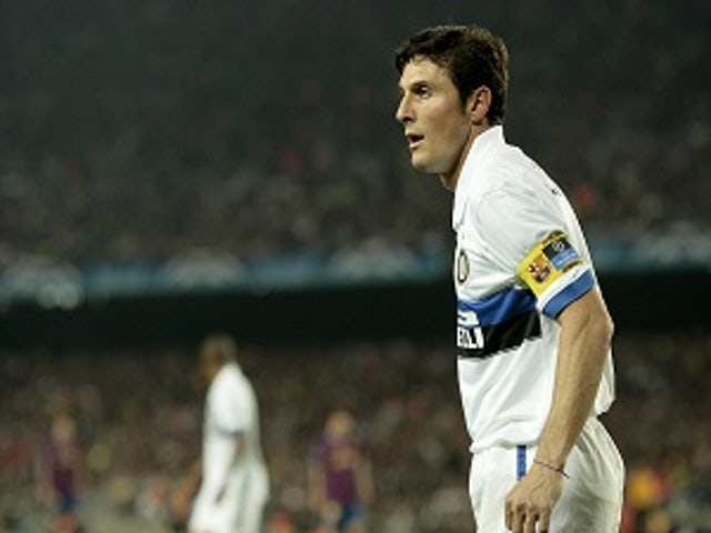 6952336c8 Zanetti admits retirement thoughts. © PA Photos. Inter Milan veteran Javier  ...