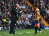 Martin Jol and Moussa Dembele