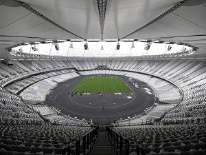 Blunkett turned away from Olympic Stadium
