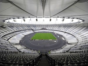 London 2012 Olympics track completed