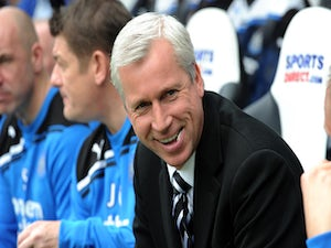 Pardew: 'Don't judge us yet'