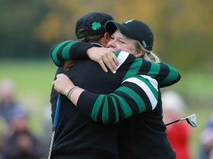Europe and USA tied in Solheim Cup