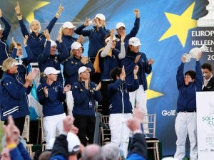 Nicholas delighted with Europe Solheim team