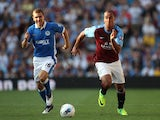 Gabriel Agbonlahor and James McArthur