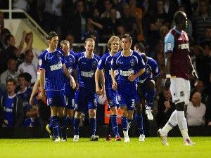 Result: West Ham 0-1 Ipswich