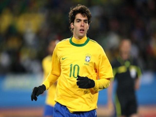 Kaka to start for Brazil?