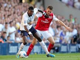 Emmanuel Adebayor and Aaron Ramsey
