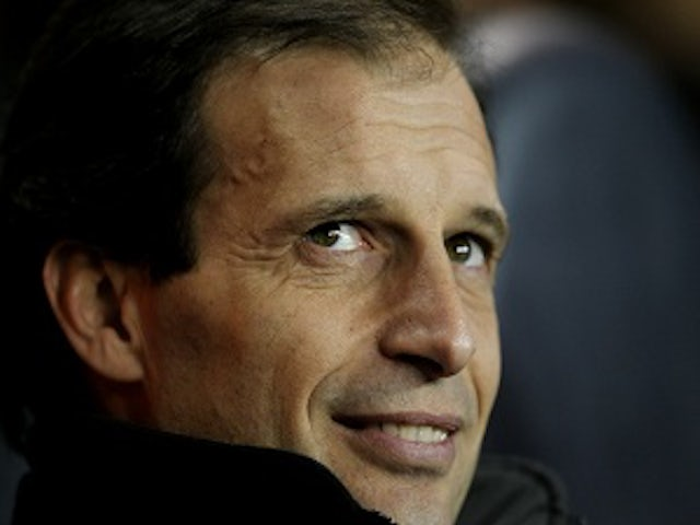 Allegri happy with Milan squad
