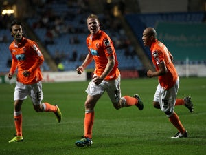 Result: Coventry 2-2 Blackpool