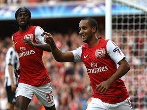 Arsenal trio out of European clash